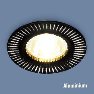 Точечный светильник Elektrostandard 2003 MR16 BK/SL черный/серебро