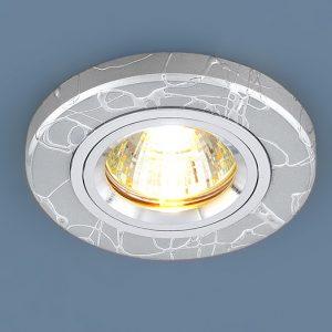 Точечный светильник Elektrostandard 2050 MR16 SL серебро