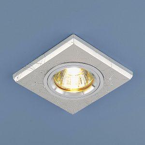 Точечный светильник Elektrostandard 2080 MR16 SL серебро (не поворотная)