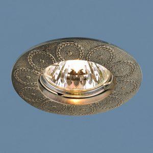 Точечный светильник Elektrostandard 603 MR16 GAB бронза