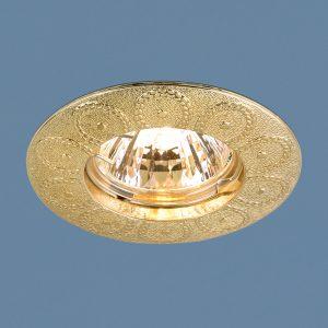 Точечный светильник Elektrostandard 603 MR16 SG сатин золото