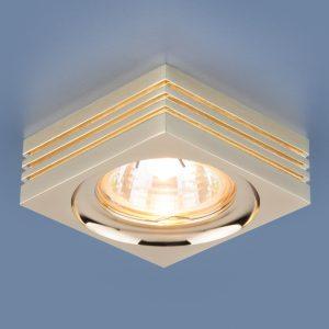 Точечный светильник Elektrostandard 6064 MR16 GD золото