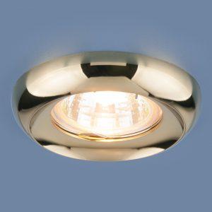 Точечный светильник Elektrostandard 6065 MR16 GD золото