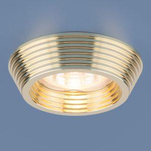 Точечный светильник Elektrostandard 6066 MR16 GD золото