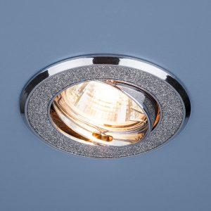 Точечный светильник Elektrostandard 611 MR16 SL серебряный блеск/хром