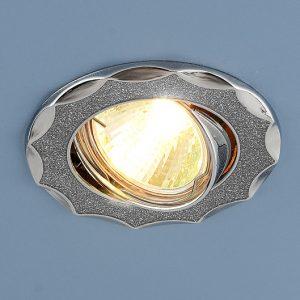 Точечный светильник Elektrostandard 612 MR16 SL серебряный блеск/хром