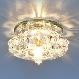 Точечный светильник Elektrostandard 6186 G9 CL прозрачный