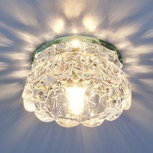 Точечный светильник Elektrostandard 6240 G9 CL зеркальный/прозрачный