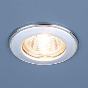Точечный светильник Elektrostandard 7002 MR16 WH/SL белый/серебро