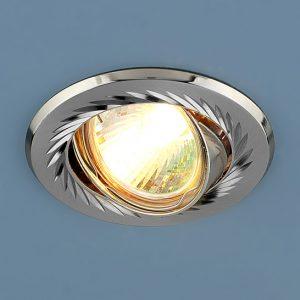 Точечный светильник Elektrostandard 704 CX MR16 SN/N сатин-никель/никель