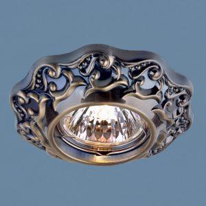 Точечный светильник Elektrostandard 7218 MR16 GAB бронза