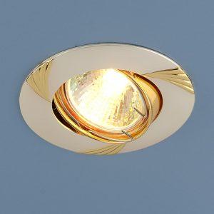 Точечный светильник Elektrostandard 8004 MR16 PS/GD перл.серебро/золото