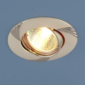 Точечный светильник Elektrostandard 8004 MR16 PS/N перл.серебро/никель
