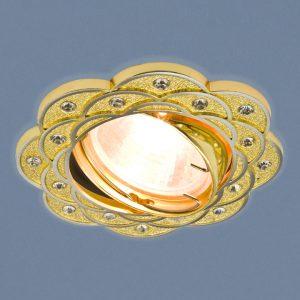 Точечный светильник Elektrostandard 8006 MR16 GD/N золото/никель