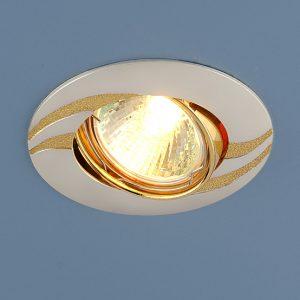 Точечный светильник Elektrostandard 8012 MR16 PS/GD перл. серебро/золото