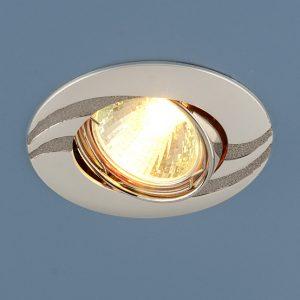 Точечный светильник Elektrostandard 8012 MR16 PS/N перл. серебро/никель