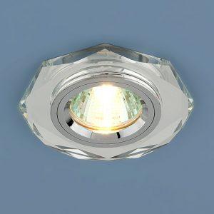 Точечный светильник Elektrostandard 8020 MR16 SL зеркальный/серебро