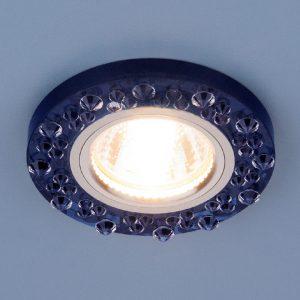 Точечный светильник Elektrostandard 8260 MR16 SP/CH сапфир/хром
