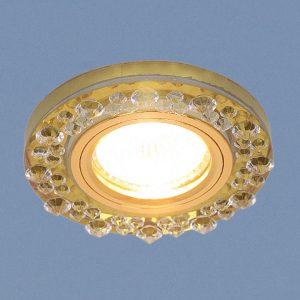 Точечный светильник Elektrostandard 8260 MR16 YL/GD зеркальный/золото