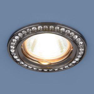Точечный светильник Elektrostandard 8332 MR16 GU/CLчерный/прозрачный