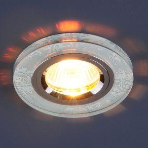 Точечный светильник Elektrostandard 8561/6 MR16 WH/CH белый/хром