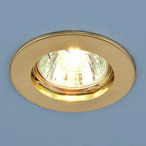 Точечный светильник Elektrostandard 863 MR16 GD золото