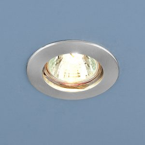 Точечный светильник Elektrostandard 863 MR16 SCH хром сатинированный