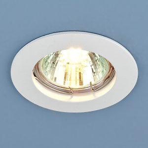 Точечный светильник Elektrostandard 863 MR16 WH белый