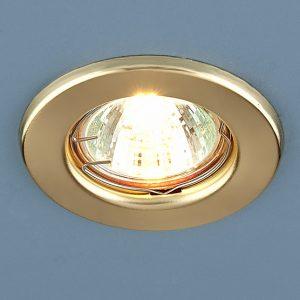 Точечный светильник Elektrostandard 9210 MR16 GD золото