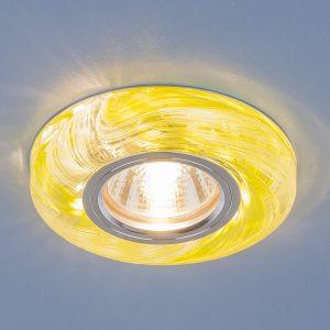 Точечный светодиодный светильник Elektrostandard 2191 MR16 CL/GR прозрачный/зеленый