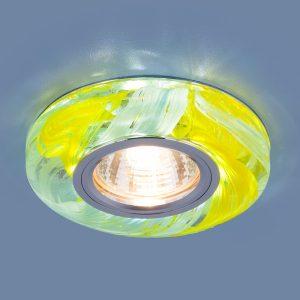 Точечный светодиодный светильник Elektrostandard 2191 MR16 YL/BL желтый/голубой