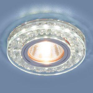 Точечный светодиодный светильник Elektrostandard 2192 MR16 CL прозрачный
