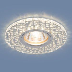 Точечный светодиодный светильник Elektrostandard 2199 MR16 CL зеркальный/прозрачный
