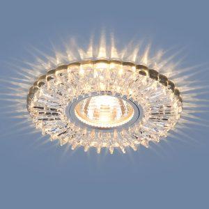 Точечный светодиодный светильник Elektrostandard 2204 MR16 CL