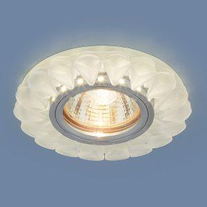 Точечный светодиодный светильник Elektrostandard 2210 MR16 Matt Ice матовый лед