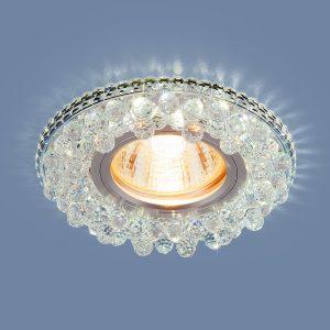 Точечный светодиодный светильник Elektrostandard 2211 MR16 CL прозрачный