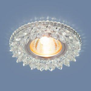 Точечный светодиодный светильник Elektrostandard 2212 MR16 CL прозрачный