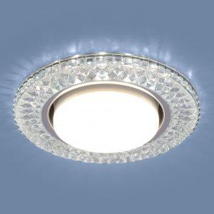 Точечный светодиодный светильник Elektrostandard 3021 GX53 CL прозрачный
