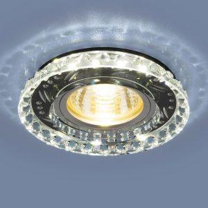 Точечный светодиодный светильник Elektrostandard 8351 MR16 CL/BK прозрачный/черный