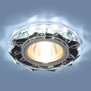 Точечный светодиодный светильник Elektrostandard 8356 MR16 CL/BK прозрачный/черный