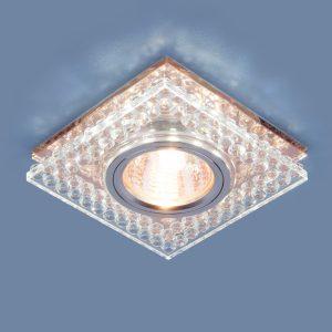 Точечный светодиодный светильник Elektrostandard 8391 MR16 CL/GC прозрачный/тонированный