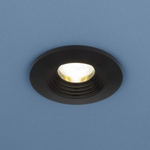 Точечный светодиодный светильник Elektrostandard 9903 LED 3W COB BK черный