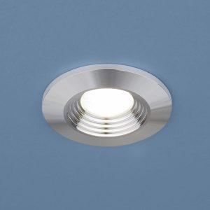 Точечный светодиодный светильник Elektrostandard 9903 LED 3W COB SL серебро