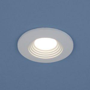 Точечный светодиодный светильник Elektrostandard 9903 LED 3W COB WH белый