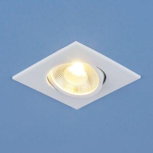 Точечный светодиодный светильник Elektrostandard DSS001 6W 4200K белый