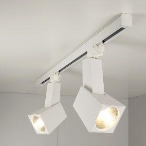 Трековый светодиодный светильник Elektrostandard Perfect Белый 38W 3300K (LTB13)