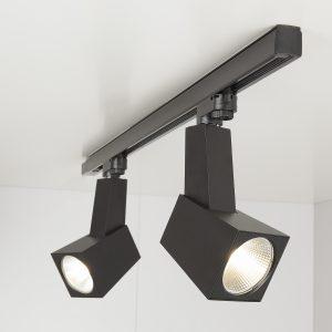 Трековый светодиодный светильник Elektrostandard Perfect Черный 38W 3300K (LTB13)