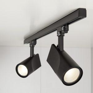 Трековый светодиодный светильник Elektrostandard Vista Черный 32W 3300K (LTB15)