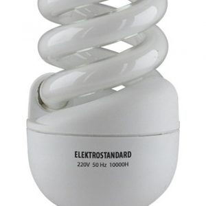 Энергосберегающая лампа Elektrostandard Мини-спираль E14 15 Вт 2700K
