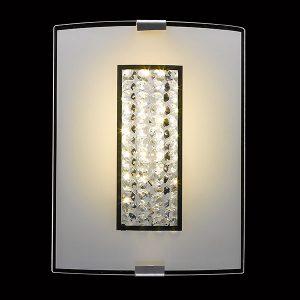светодиодный настенный светильник 90014/1 хром